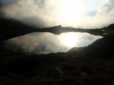 Post-orageux, prise de vue numérique, août 2018, Lac d'Aygues Cluses